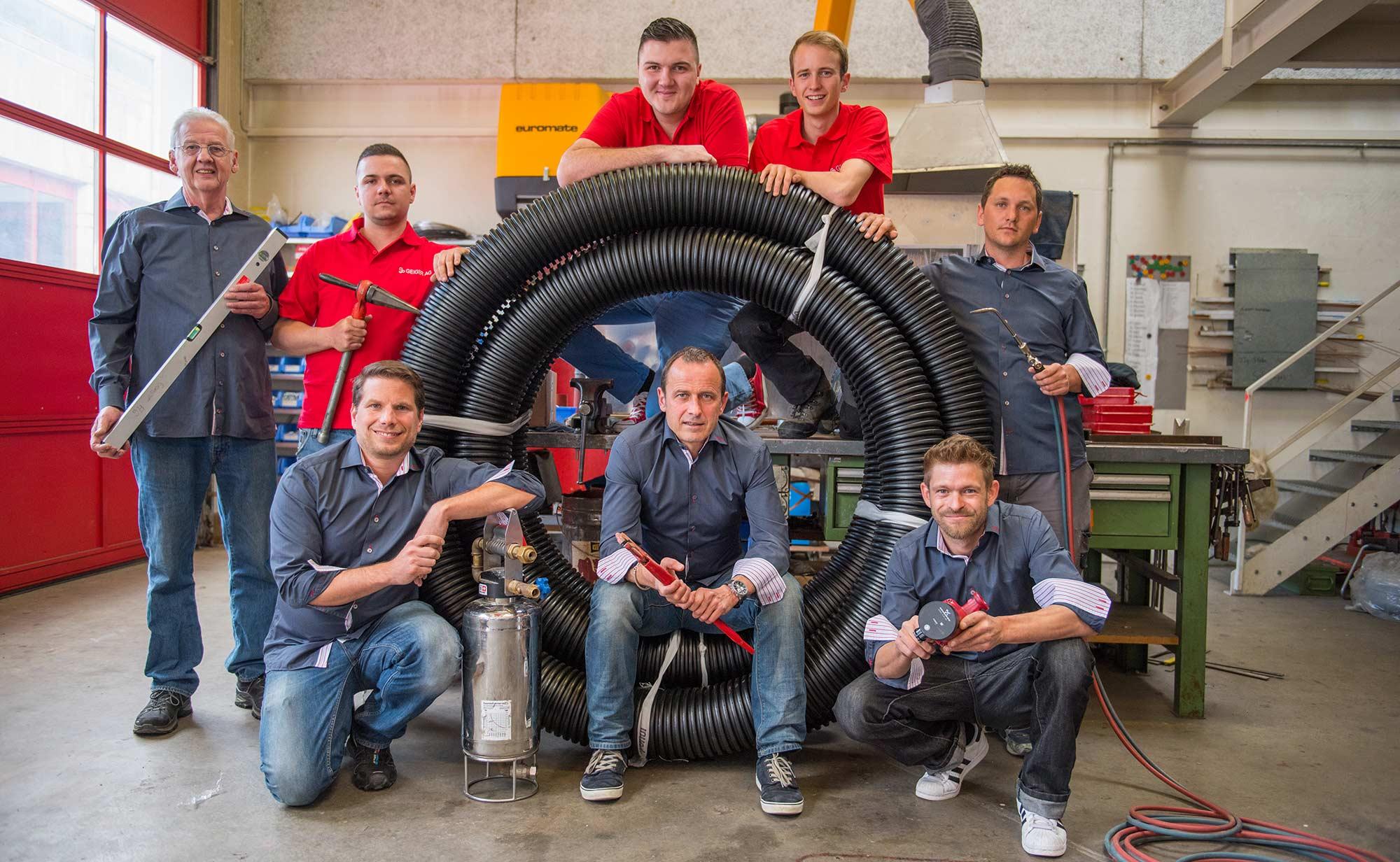 Geiger AG - Team Heizung