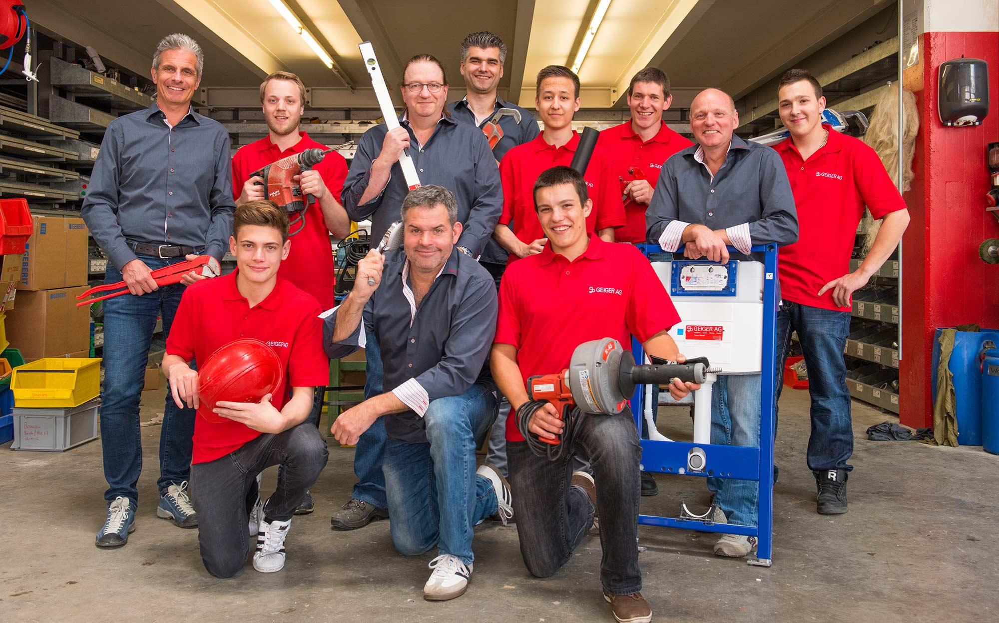 Geiger AG - Team Sanitär